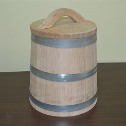 Кадка 15 литров Бондарная лавка - фото 10103