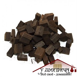 Дубовые кубики Кавказский скальный дуб 250 гр на 50 л напитка - фото 10131