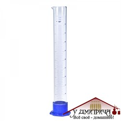 Мерный цилиндр (на пластике) 100 мл  - фото 10157