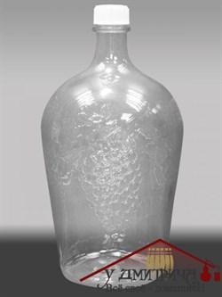 "Стеклянная бутылка  ""Ровоам"" 4,5 литра - фото 10259"