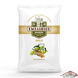 Дрожжи Хмельные Gold сухие для изготовления напитков 100 грамм ( 50 шт в коробке) - фото 10691