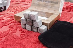 Камни для виски гладкие углы 2*2*2 см - фото 11072