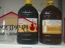 """Жидкий неохмеленный солодовый экстракт """"Рожь и ячмень"""", 3,9 кг - фото 11397"""
