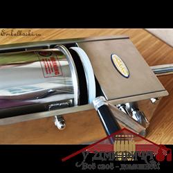 Шприц колбасный  HAKKA нерж., 5 литров горизонтальный - фото 11442