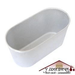 """Форма для хлеба из алюминия """"Л10б"""", 21*10*8 см - фото 11727"""