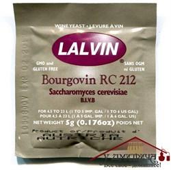 "Винные дрожжи Lalvin ""Bourgovin RC212"", 5 г - фото 11773"