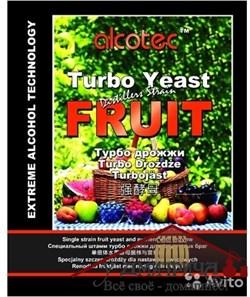 Турбо дрожжи  Alcotec FRUIT TURBO, 60 гр - фото 11789