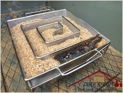 Дымогенератор лабиринтный квадратный - фото 11819