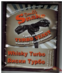 Дрожжи для зерновых браг  Double Snake Whisky - фото 8780
