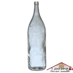 """Бутылка стеклянная """"Четверть"""" 3075 мл - фото 9205"""