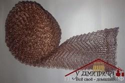 Насадка Панченкова смешанная медь-нержавейка плотная 4 нити 1 метр - фото 9633