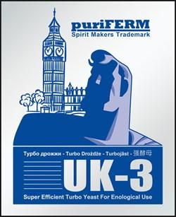 Турбодрожжи Puriferm  UK-3 - фото 9978