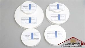 Фильтры обеззоленные Синяя лента 100 шт. (диаметр 125 мм)