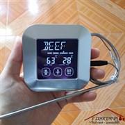 Термометр электронный  с сигнализацией по температуре  на магнитах