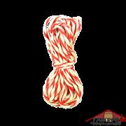Шпагат колбасный х/б (бело-красный) 10 м