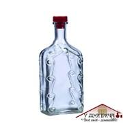 Бутылка стеклянная «Ёлка» 1000 мл