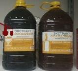 """Жидкий неохмеленный солодовый экстракт """"Пшеница и ячмень"""", 3,9 кг"""