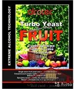 Турбо дрожжи  Alcotec FRUIT TURBO, 60 гр