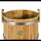 Кадка дубовая 30 л «Бонпос» (обручи из нерж. стали) - фото 5325