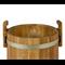 Кадка дубовая 10 л «Бонпос» (оцинк. обручи) - фото 5355